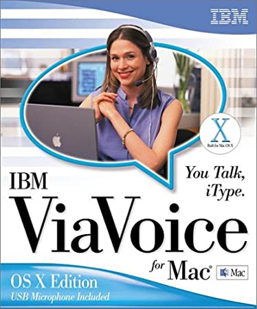 ViaVoice for Macintosh OSX 3.0