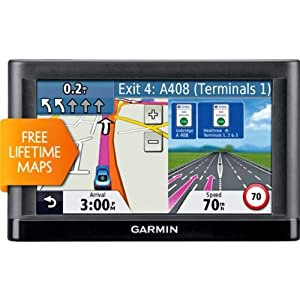 Unrivalled Garmin Nuvi 52LM 5 Inch UK and ROI Sat Nav with Case with accompanying Lost & Found Tags