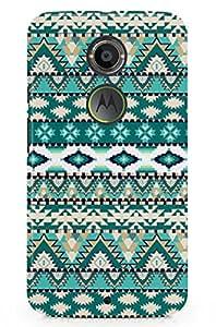 GeekCases Aztec Green Back Case for Motorola Moto x (2nd Gen)