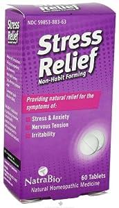 Natra-Bio Stress Relief 60 Tablets