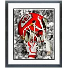 Kansas City Chiefs Helmet Spotlight Photo (Size: 12.5 x 15.5) Framed by NFL