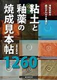 粘土と釉薬の焼成見本帖 1260: 市販材料の組み合わせで色選び