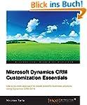 Microsoft Dynamics CRM Customization...