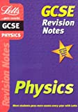 GCSE Physics: Revison Notes (Letts GCSE revision notes) (1840854758) by Levy, Paul