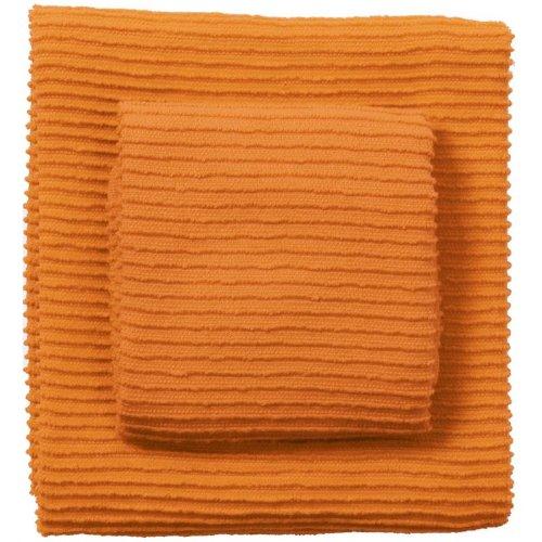 Now Designs Ripple Towel Kumquat Set Of 2 Food Beverages Tobacco Food Items Fruits Vegetables