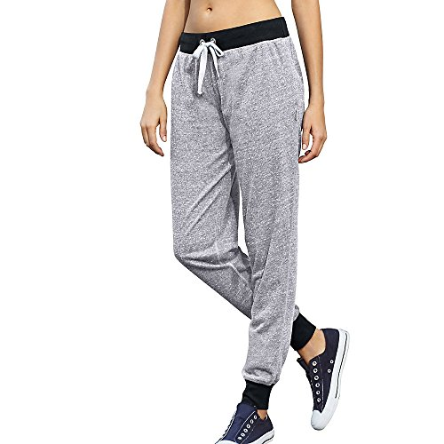 Champion Womens Jogger Pants M0586_Oxford Grey/Black_M