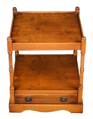 Cheap Antique Style Yew End Table (B008Z27AN0)