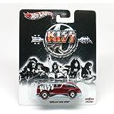 "2013 Kiss Metal/Metal Dream Van XGW (Hot Wheels) Toy Car 40 Years, 1973 Decades of Decibles 2013 ""Real Riders"""
