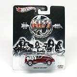 2013 Kiss Metal/Metal Dream Van XGW (Hot Wheels) Toy Car 40 Years, 1973 Decades of Decibles 2013