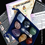 Chakra, Healing Stone Collection with Lemurian Seed Crystal Reiki & Meditation