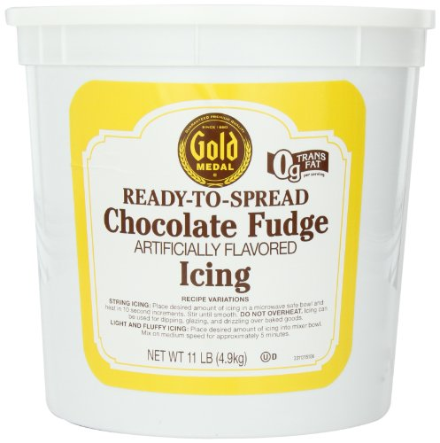 Gold Medal Chocolate Fudge Ready To Serve Icing, 11-Pound