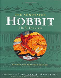 The Annotated Hobbit by J.R.R. Tolkien and Douglas A. Anderson