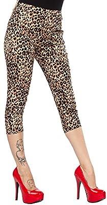 Sourpuss Leopard Peggy Capri Pants
