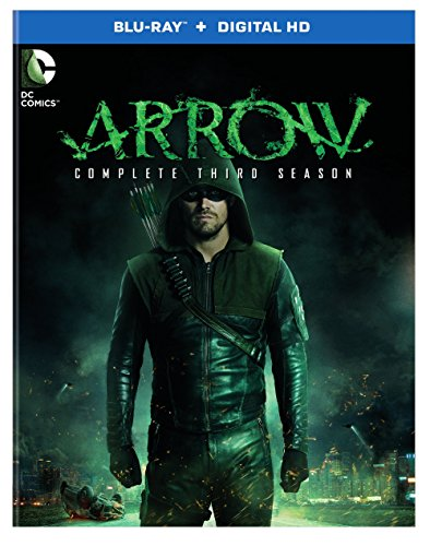 Blu-ray : Arrow: The Complete Third Season (DC) (Boxed Set, Ultraviolet Digital Copy, Slipsleeve Packaging, , 4 Disc)