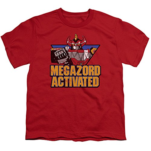 Mighty Morphin Power Rangers Megazord Activated Big Boys Shirt