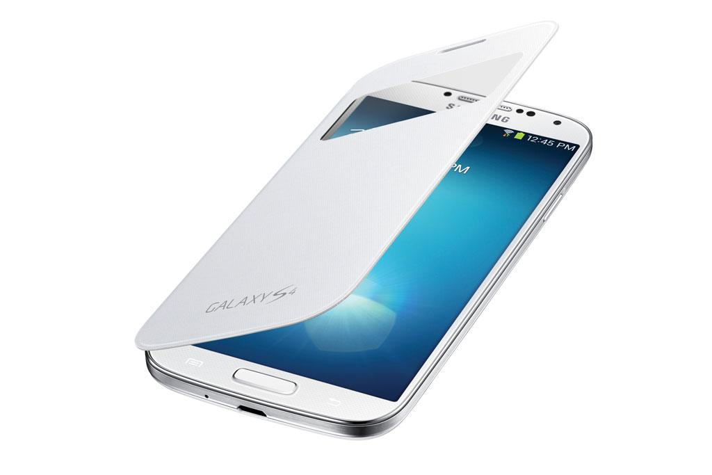 The Wireless Charging S-View Flip Cover was designed by Samsung to