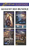 Love Inspired Suspense August 2013 Bundle: Hide and Seek\Shock Wave\Dangerous Waters\Fatal Inheritance (Family Reunions)