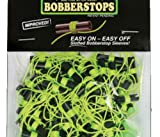 Rod-N-Bobb's Bobber Stops with Glow Beads (Pack of 100), Chartreuse