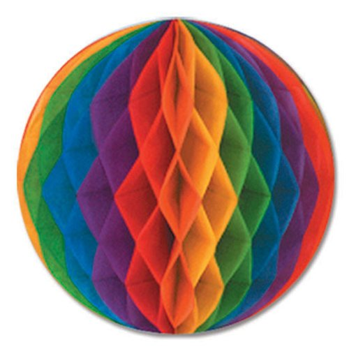 Beistle Packaged Tissue Ball, 12-Inch