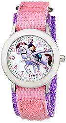 Disney Kids W001939 Sofia Analog Display Analog Quartz Pink Watch