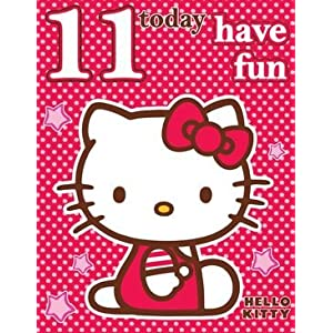 Hello Kitty Birthday Card - Age 11: Amazon.co.uk: Toys