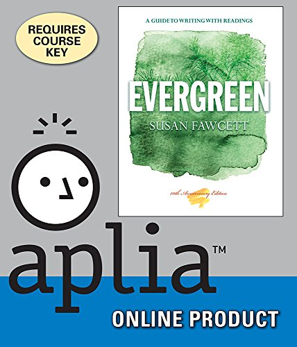 aplia-for-fawcetts-evergreen-a-guide-to-writing-with-readings-10th-edition