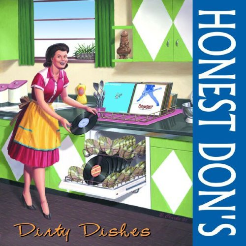 Original album cover of Honest Don's Dirty Dishes by Honest Don's Dirty Dishes