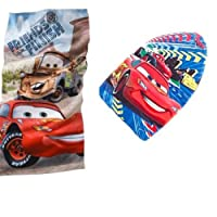 Disney® Cars Beach Towel WITH Disney Pixar Cars Kickboard