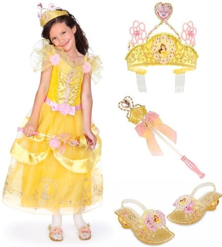 Princess Belle Dress Up Shoes