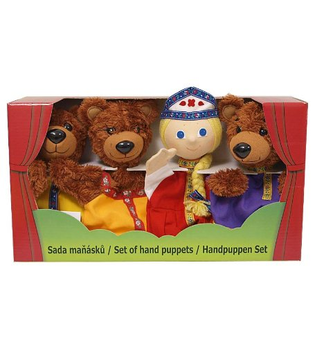 Goldilocks and the Three Bears Puppet Gift Set