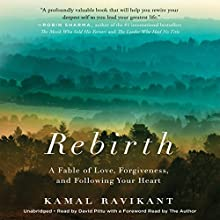 Rebirth: A Fable of Love, Forgiveness, and Following Your Heart Audiobook by Kamal Ravikant Narrated by David Pittu
