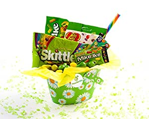 Pistachio Gifts® Sunflower Sweet & Sour Candy Bucket