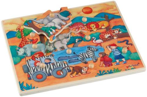 Picture of Chelona Discovery Puzzle: Safari (B000BNFH9U) (Pegged Puzzles)