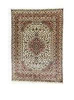 L'Eden del Tappeto Alfombra Kashmirian F/Seta Crudo / Marrón 241  x  173 cm