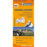 Carte Espagne Centre Michelin