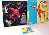 corgi classic 60th anniversary of corgi 1956-2016 royal air force red arrows aircraft 1.72 scale diecast model