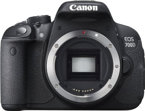 Canon EOS 700D 18MP Digital SLR Camera (Black) (Body Only)