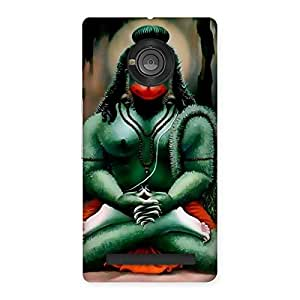 Impressive Jai Hanuman Multicolor Back Case Cover for Yu Yunique