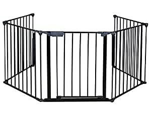 TMS® Baby Safety Fence Hearth Gate BBQ