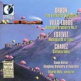 Music of Latin American Masters / Orbon Villa-Lobos Estevez Chavez / Eduardo Mata