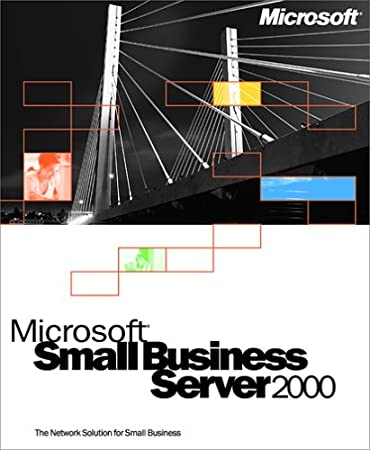 Microsoft Small Business Server 2000 Upgrade 5-user CD/DVD