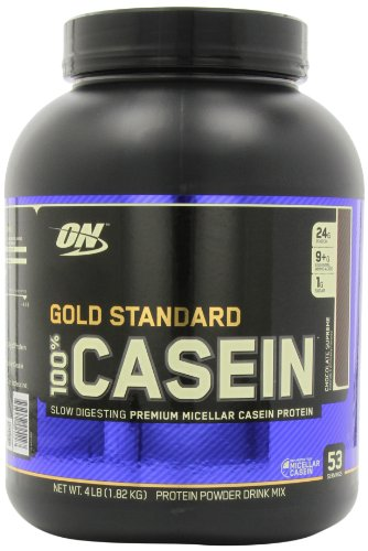 Optimum Nutrition  100% Casein Protein, Chocolate Supreme 4 Pound