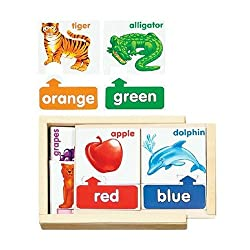 Colors Puzzle Cards | Discount Wooden Toys