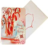Candy Cane Christmas Card Box Set