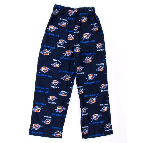 Adidas Oklahoma City Thunder Tc Printed Blue L Toddler Pants front-955323