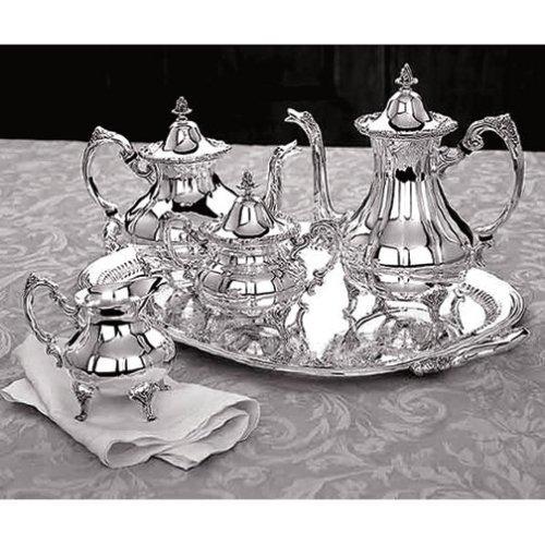 Reed & Barton Burgundy 5-Pc. Silverplated Tea Set