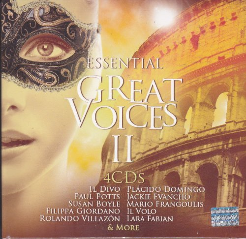 Essential Great Voices Ii: 4 Cd'S