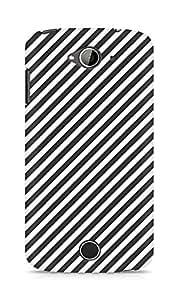 Amez designer printed 3d premium high quality back case cover for Acer Liquid Z530 (Black n White Pattern2)