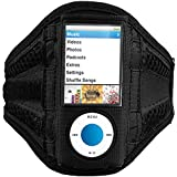 ChannelExpert Airmesh Armband Jogger Joggen Sportband JOGGING FITNESS fürApple iPod nano 5th Gen schwarz