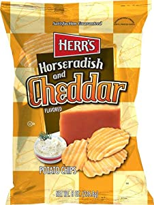 Herr's Horseradish and Cheddar Potato Chips by Herr Foods Inc.